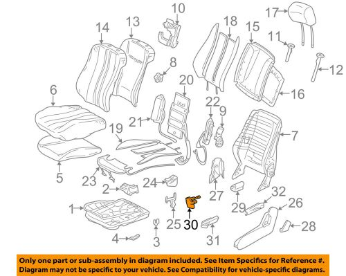 small resolution of details about mercedes oem 96 03 e320 seat cover left 2029190720