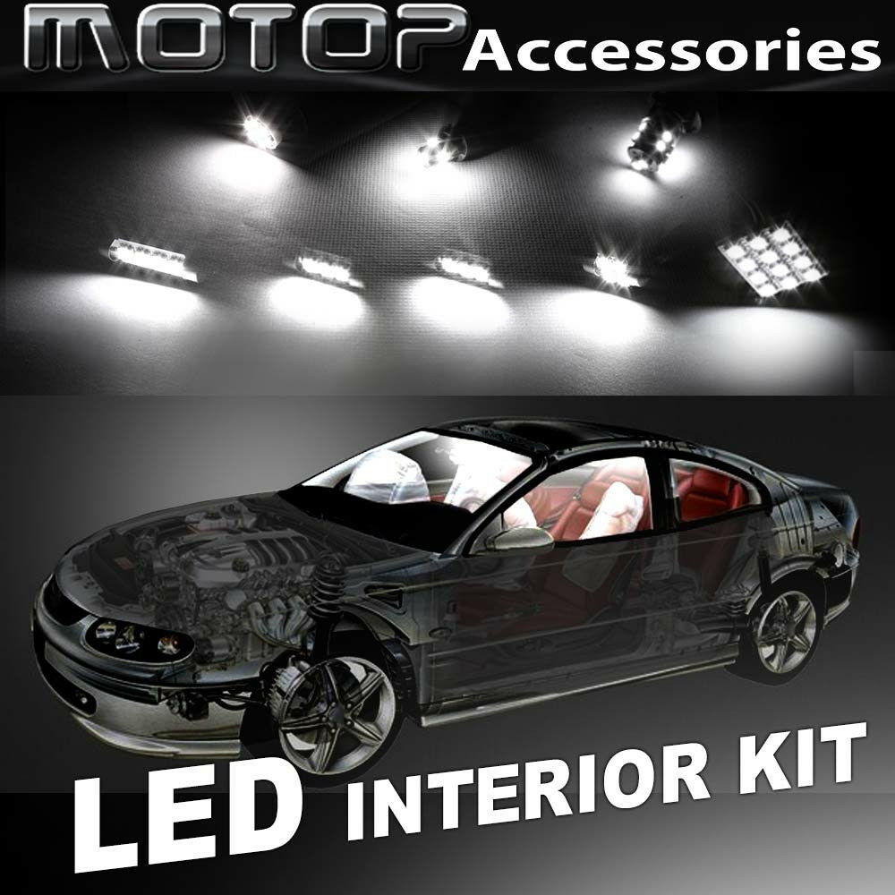 hight resolution of details about 9pcs white cob led bulb interior light package kit for dodge durango 2001 2003