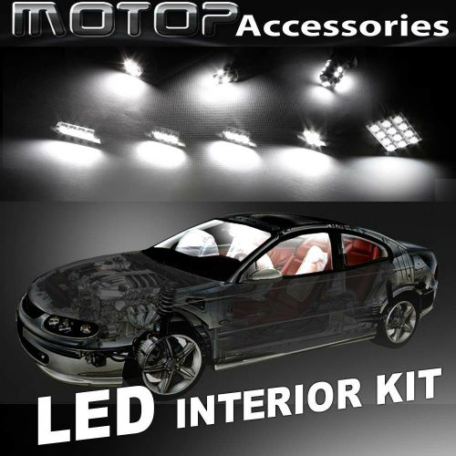 small resolution of details about 9pcs white cob led bulb interior light package kit for dodge durango 2001 2003