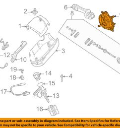 details about bmw oem 04 08 z4 airbag air bag clockspring clock spring 61318379091 [ 1000 x 798 Pixel ]