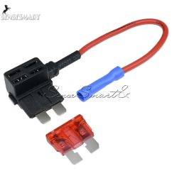 micro tap adapter blade fuse holder 10a 12v acs add a circuit fusedetails about micro tap [ 1000 x 1000 Pixel ]