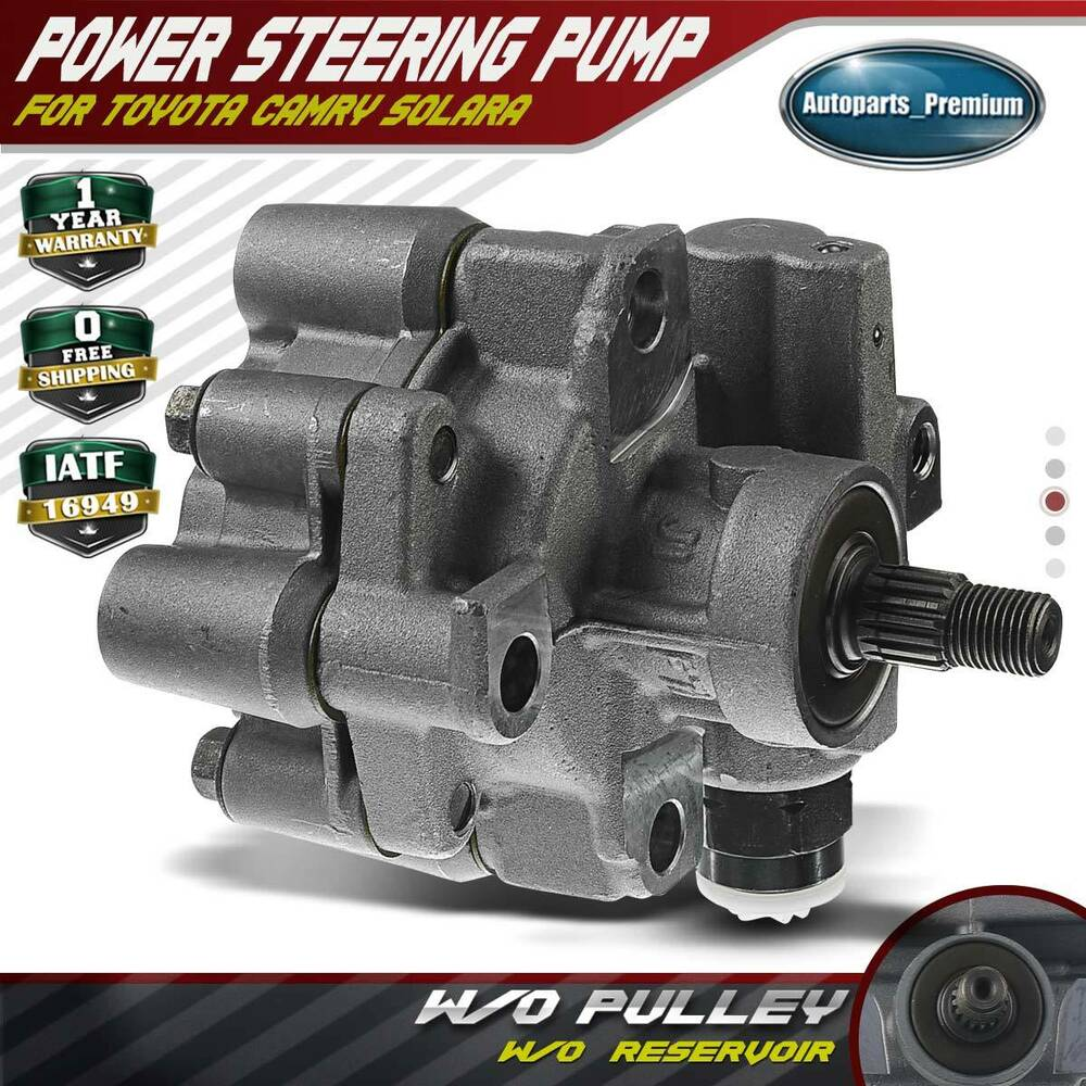 medium resolution of details about power steering pump w o reservoir for 92 01 toyota camry solara l4 2 2l 21 5876