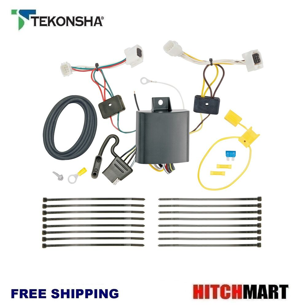 hight resolution of details about fits 2017 2018 mazda cx5 cx 5 tekonsha trailer hitch tow wiring 4 flat 118746