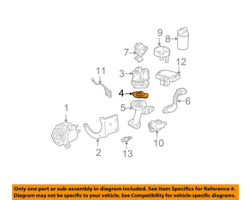 small resolution of details about gm oem egr valve gasket 10100094