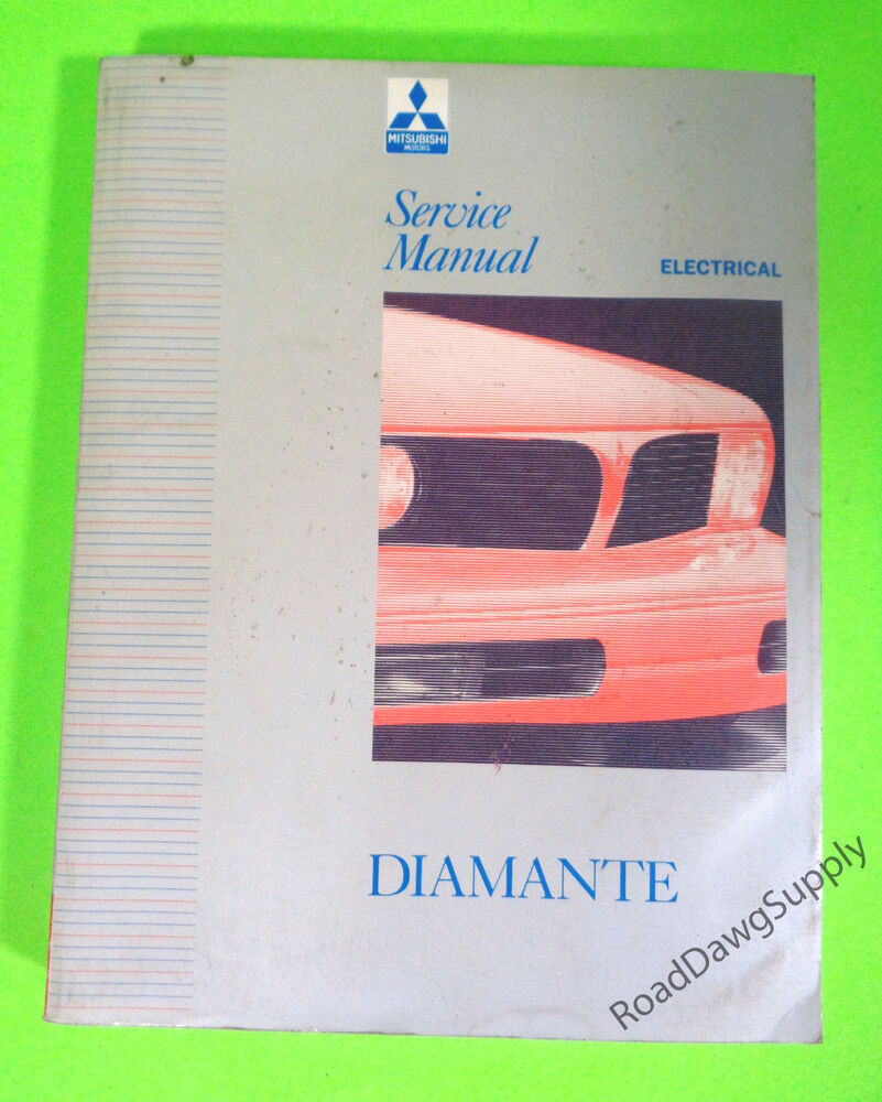 hight resolution of details about 1992 1995 mitsubishi diamante electrical service shop repair manual book
