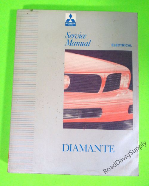 small resolution of details about 1992 1995 mitsubishi diamante electrical service shop repair manual book