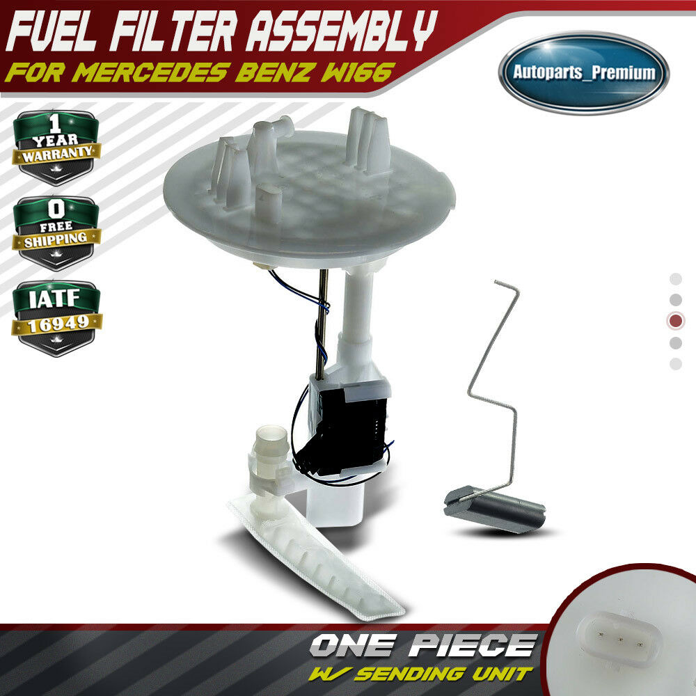 hight resolution of details about fuel filter w sending unit for 12 18 mercedes benz gl ml class w166 a1664700490