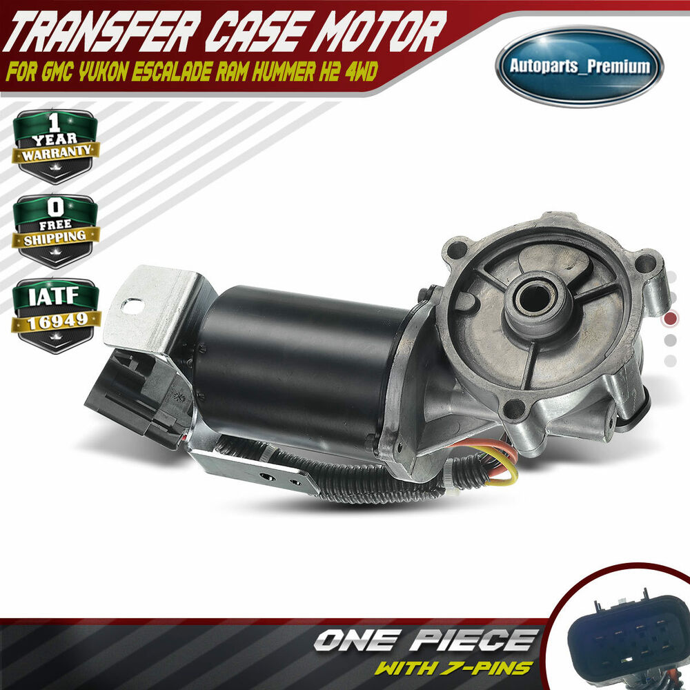 hight resolution of details about transfer case motor 600 908 for ram chevy silverado gmc sierra tahoe escalade h2