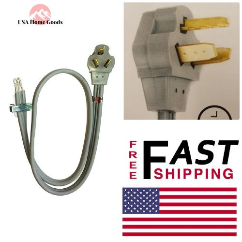 small resolution of details about 3 wire 30 amp dryer cord 4 ft adjustable prong plug washers dryers parts