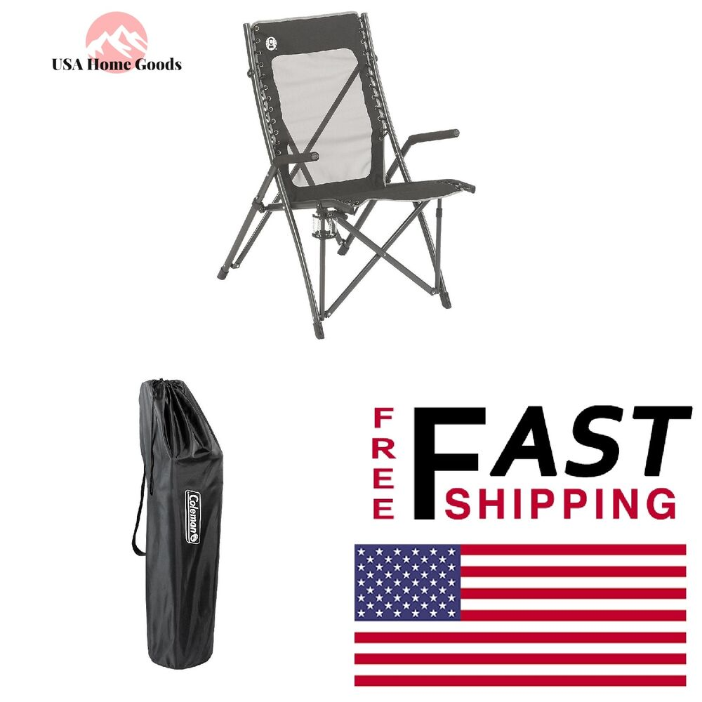 Coleman Comfortsmart Chair Coleman Suspension Chair Outdoor Folding Seat Mesh Fabric Camping Furniture Ebay