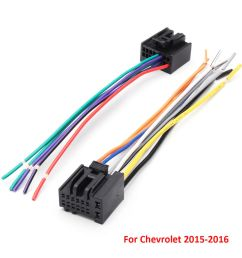 details about 2pcs car radio stereo speaker wiring harness plug cable for chevrolet [ 1000 x 1000 Pixel ]