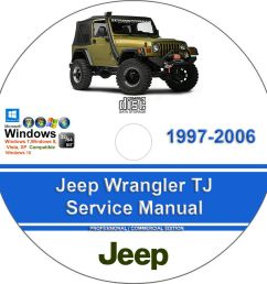 details about jeep wrangler tj 1997 2006 factory workshop service manual parts list [ 904 x 904 Pixel ]