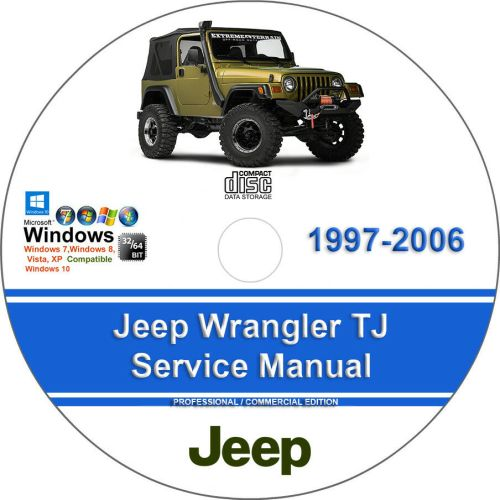 small resolution of details about jeep wrangler tj 1997 2006 factory workshop service manual parts list