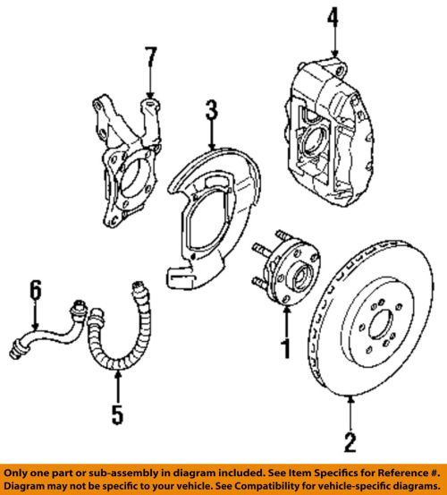 small resolution of details about mitsubishi oem 94 99 3000gt front brake disc rotor mr235802