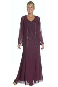 Formal Modest Mother Of The Bride Groom Dress Jacket ...