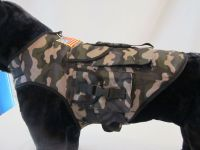 Large Pet Dog Clothes - Camouflage Backpack Vest Jacket ...