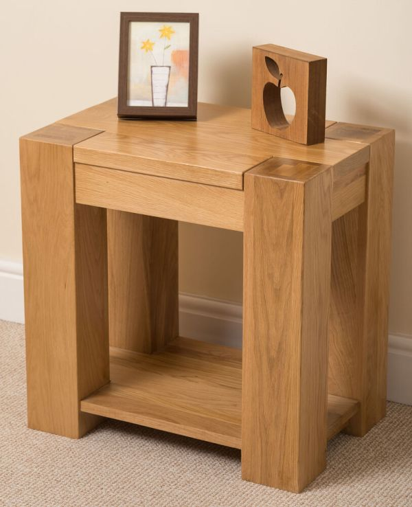Living Room Side Tables with Storage