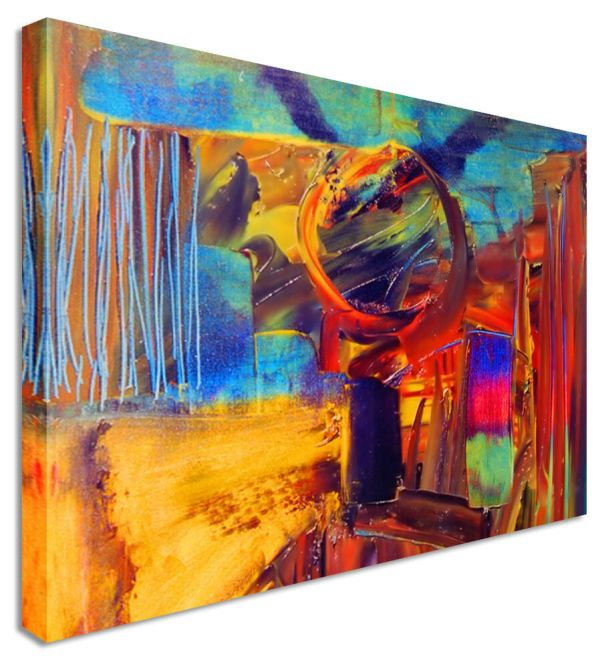 Large Abstract Canvas Wall Art Painting