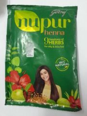 godrej nupur herbal heena powder