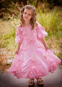 Girls Satin Vintage Victorian Dress Pageant Fancy Party ...