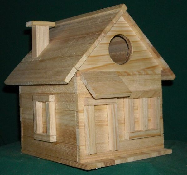 Cottage Bird House Kits Children And Adults Hand In Usa