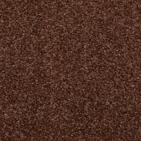CHOCOLATE BROWN HESSIAN BACK BUDGET SAXONY CARPET, CHEAP