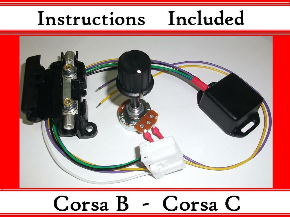 car wiring diagram program 2000 pontiac grand prix corsa b c - kit electric power steering controller box with ecu plug epas | ebay