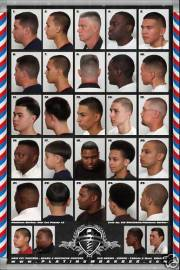 24 x 36 barber poster chart