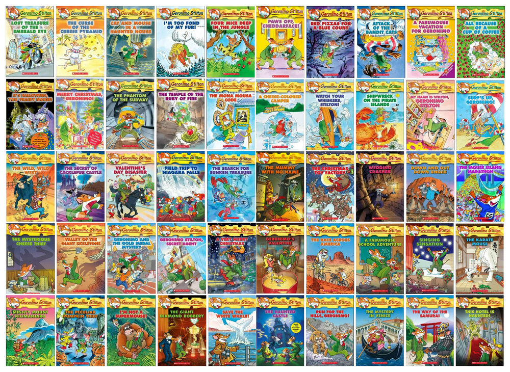 Image result for geronimo stilton books