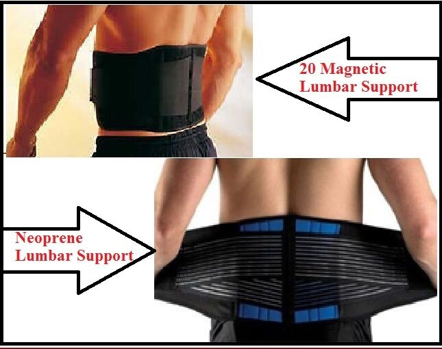 posture chair ebay think stool back belt / brace, lower pain relief lumbar support, double pull neoprene |