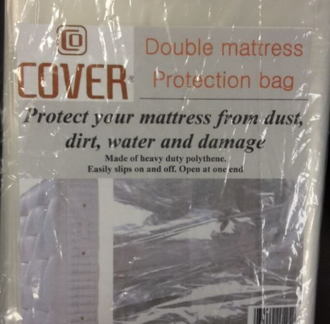 Heavy Duty Furniture Mattress Matress Bag Cover Protector Strong Thick Plastic Ebay