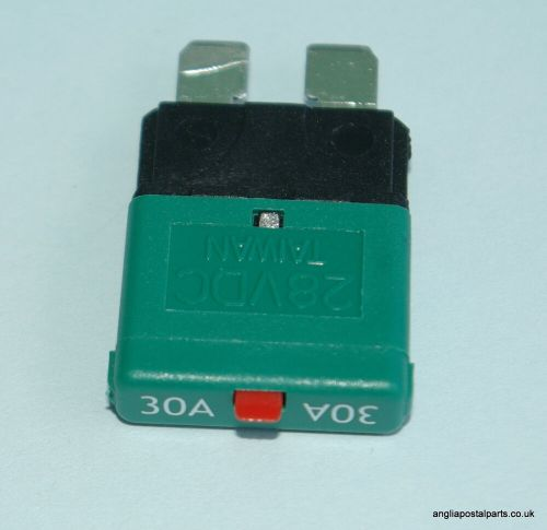 small resolution of resettable circuit breaker blade fuse12 24 volt 30 amp trip mcb free