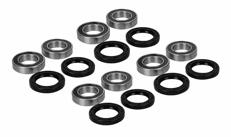 Yamaha 450 RHINO ATV Front & Rear Wheel Bearing Kit 2006