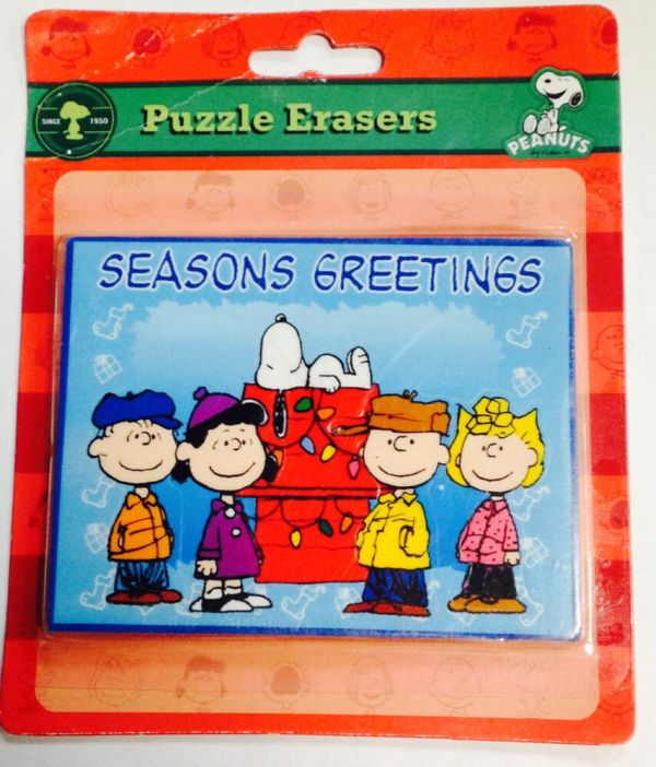 Peanuts Charlie Brown Seasons Greeting