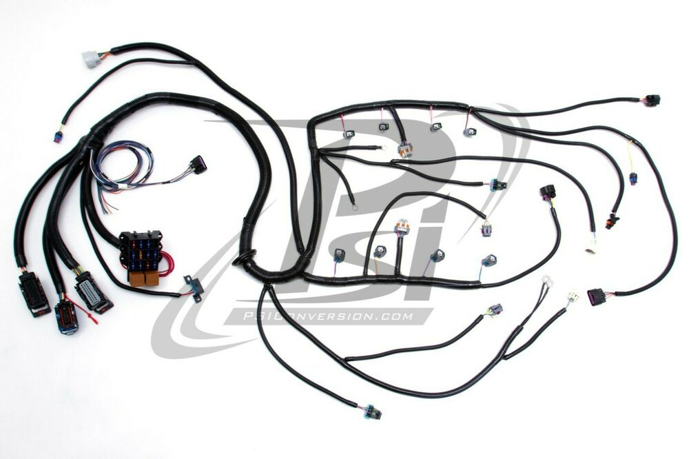 07-08 LY6 6.0L L92 6.2 PSI STANDALONE WIRING HARNESS W