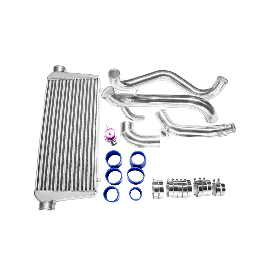 CXRacing FMIC Intercooler Piping Kit BOV For Nissan 89-99
