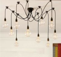 10 Lights bulbs Edison Chandelier Pendant Lamp Lighting ...