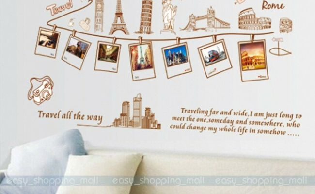 Diy Removable Pvc Art Quote Photo Wall Sticker Decal Mural