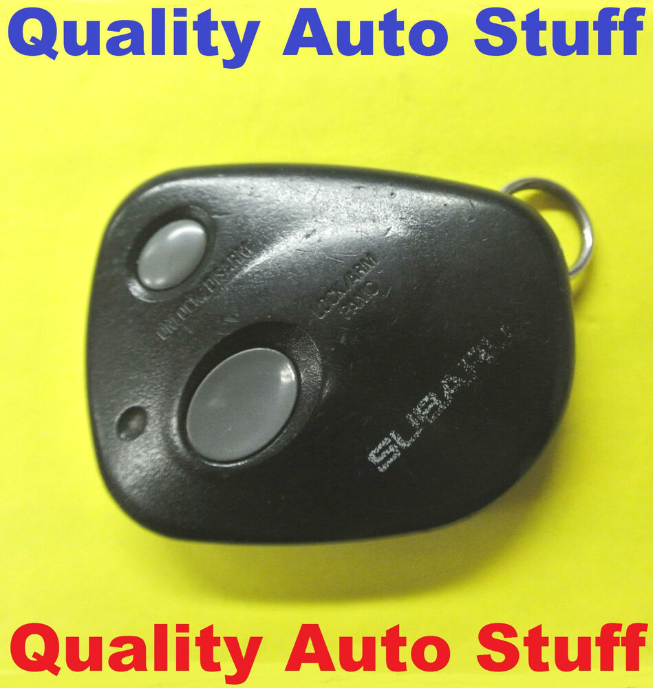 1999 Subaru Outback Remote Keyless Entry Used Key Fob 88035ac230