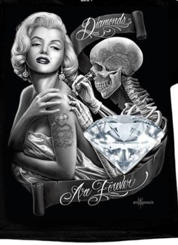 Girls And Lowrider Wallpaper Pic Dga David Gonzales Marilyn Monroe Diamonds Forever Tank
