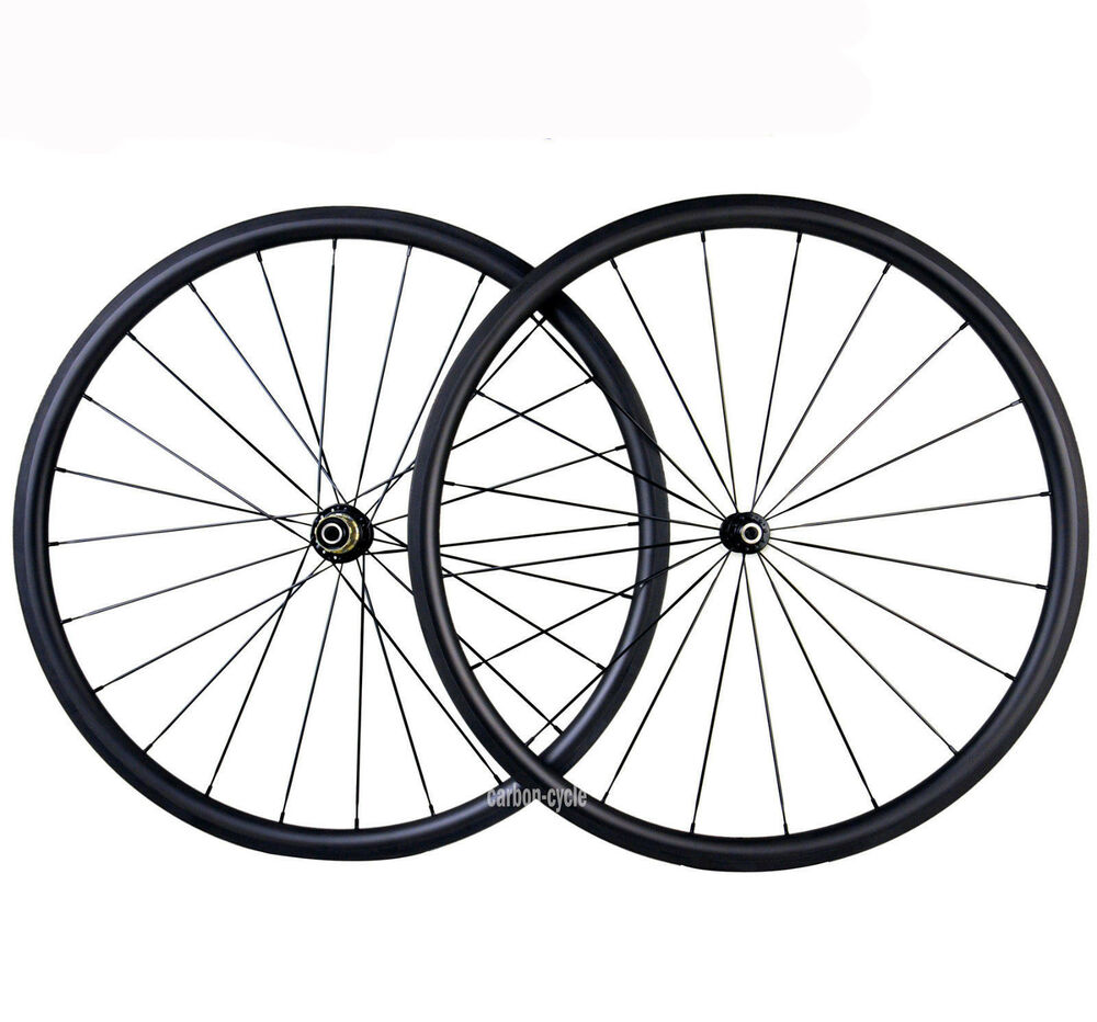 30mm Clincher Carbon Wheel 25mm Novatec Road 700C Road