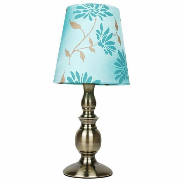 Floral Table Lamp with Shade