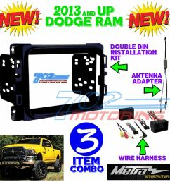 details about metra 95 6518b double din stereo install dash kit dodge ram 2013 2017 interfac [ 1000 x 1000 Pixel ]