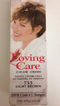 Clairol Loving Care Hair Color Light Brown 755 ...