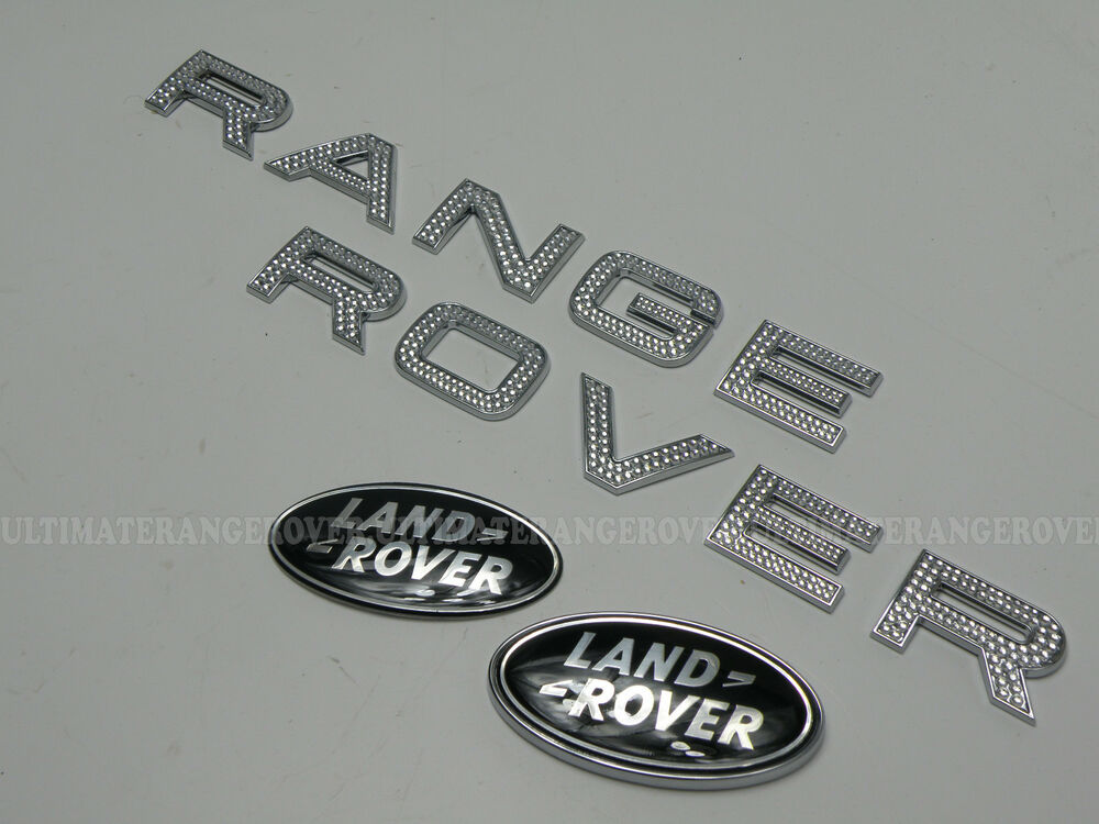 RANGE ROVER EVOQUE CHROME DIAMANTE SUPERCHARGED FRONT BACK