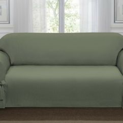 Sage Sofa Slipcovers Pomona Group Green Loden Lucerne Slipcover, Couch Cover, ...