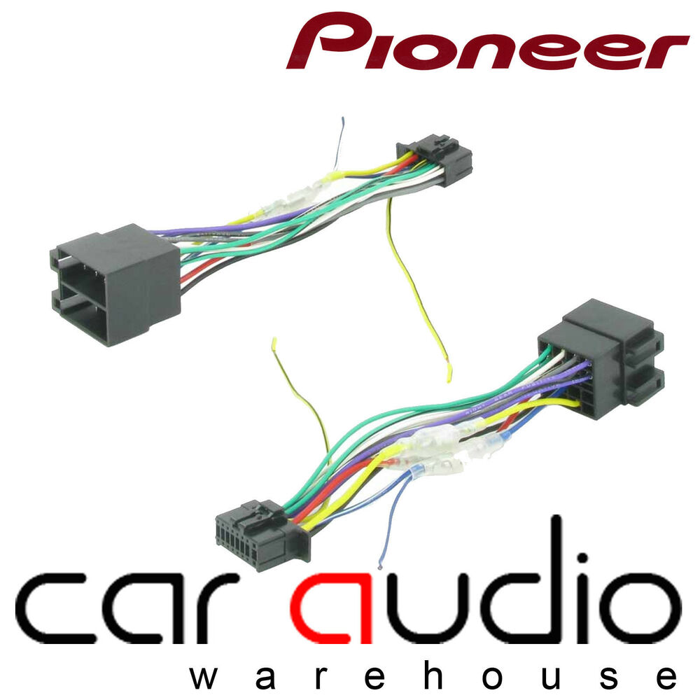medium resolution of pioneer 16 pin iso head unit replacement car stereo wiring pioneer car stereo wire harness pioneer
