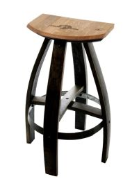 Industrial Style Wood And Metal Kitchen Bar Stools | eBay