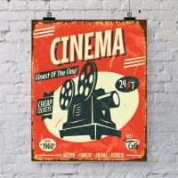 Vintage CINEMA poster art print - Great wall decor for ...