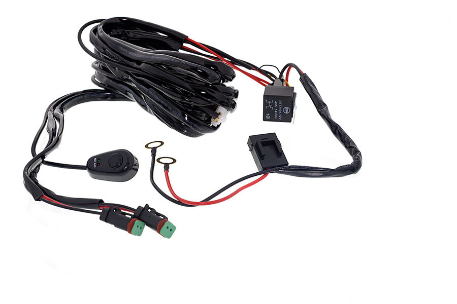 Universal Wiring Harness & Switch Kit for LED Work Light